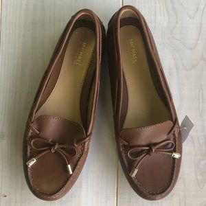 Michael Kors Tan Loafers